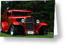 1931 Ford Panel Delivery Truck  Greeting Card