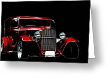 1931 Ford Panel Truck 2 Greeting Card