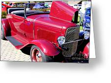 1931 Ford With Rumble Seat Greeting Card