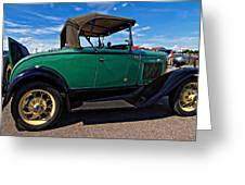 1931 Model T Ford Greeting Card by Steve Harrington
