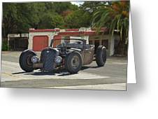 1931 Rataoulle 'rat Rod' Greeting Card