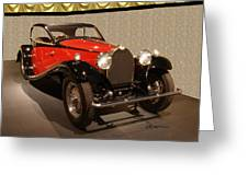 1932 Bugatti - Featured In 'comfortable Art' Group Greeting Card