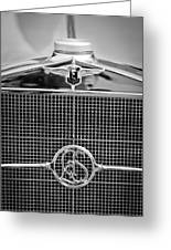 1932 Cadillac Lasalle Grille Emblem Greeting Card