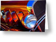 1932 Chevy Coupe Greeting Card