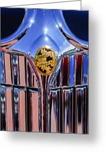 1932 Chrysler Ch Imperial Cabriolet Grille Emblem Greeting Card