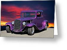 1932 Ford Coupe 'people Eater' Greeting Card