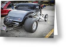 1932 Ford Highboy Back View Classic Car Automobile In Color  310 Greeting Card