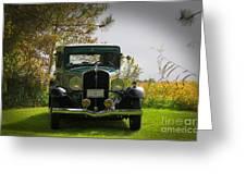 1932 Frontenac 6-70 Sedan  Greeting Card