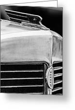 1932 Marmon Sixteen Lebaron Victoria Coupe Hood Ornament - Grille Emblem - 1904bw Greeting Card