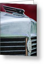 1932 Marmon Sixteen Lebaron Victoria Coupe Hood Ornament - Grille Emblem - 1904c Greeting Card