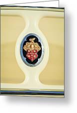 1932 Packard Emblem -1078c Greeting Card