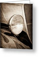 1933 Ford Coupe Hot Rod Greeting Card