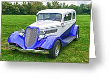 1933 Ford Vicky Greeting Card