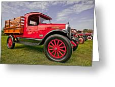 1933 International Truck Greeting Card