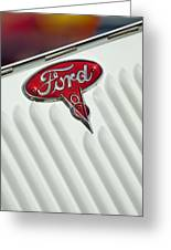 1934 Ford Emblem Greeting Card