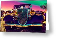 1934 Ford Front Greeting Card