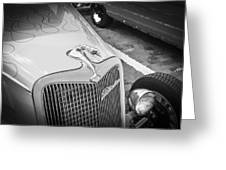 1934 Ford Hot Rod Greeting Card