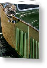 1934 Green Rolls Greeting Card