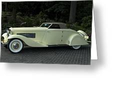 1935 Duesenberg J Roadster  Greeting Card