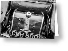 1935 Frazer Nash Tt Replica Shelsley -0223bw Greeting Card