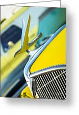 1935 Hudson Hood Ornament Greeting Card
