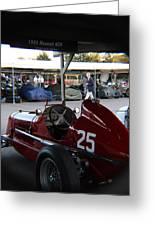 1935 Maserati 4cm Greeting Card