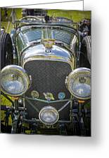 1936 Bentley 4.5 Litre Lemans Rc Series Greeting Card