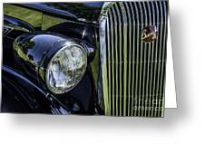 1936 Buick Vectoria Coupe Greeting Card