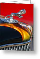 1936 Dodge Ram Hood Ornament 1 Greeting Card