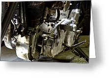 1936 Indian Flat Tracker Motorcycle Greeting Card