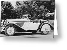 1937 Bmw Convertible Greeting Card