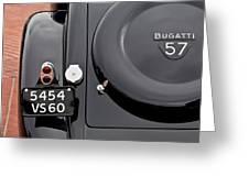 1937 Bugatti Type 57c Ventoux Greeting Card by Jill Reger