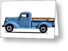 1937 Chevrolet Pickup Truck Greeting Card