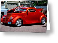 1937 Ford Coupe Greeting Card