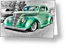 1937 Ford Coupe Greeting Card by Phil 'motography' Clark