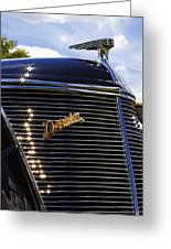 1937 Ford Model 78 Cabriolet Convertible By Darrin Greeting Card