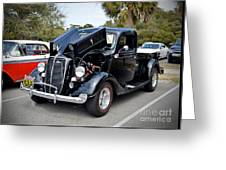 1937 Ford Pick Up Greeting Card