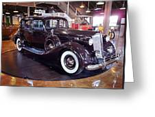 1937 Packard Greeting Card