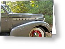 1938 Buick Special Greeting Card