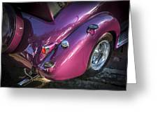 1938 Chevrolet Coupe With Rumble Seat Greeting Card