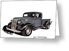 1938 Chevy Pickup Greeting Card