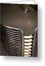 1938 Desoto 4 Door Sedan Greeting Card