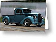 1938 Ford Pickup Truck Hot Rod Greeting Card