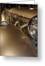 1938 Mercedes 540k Sport Tourer Greeting Card
