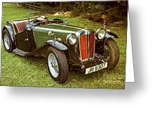1938 Mg Ta Priced At Only 1550. In 1970.  Greeting Card