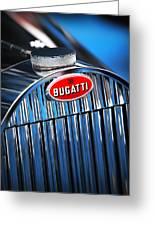 1939 Bugatti Type 57c Greeting Card