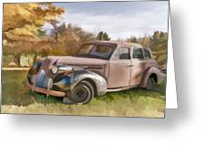 1939 Buick Special Greeting Card