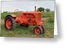 1940 Allis Chalmers Greeting Card