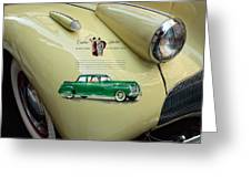 1940 Buick 41c Greeting Card