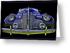 1940 Buick Greeting Card